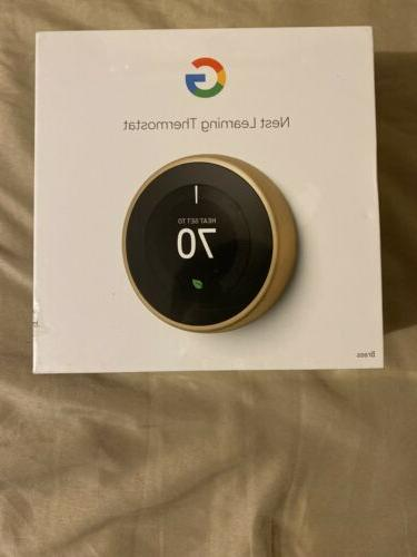 google learning thermostat 3rd gen smart thermostat