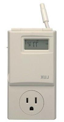 Heating & Cooling Programmable Outlet Thermostat, Weekdays &