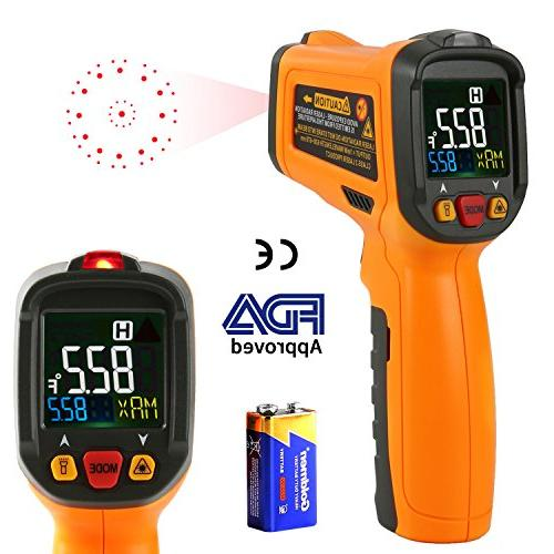 infrared thermometer pm6530b laser temperature