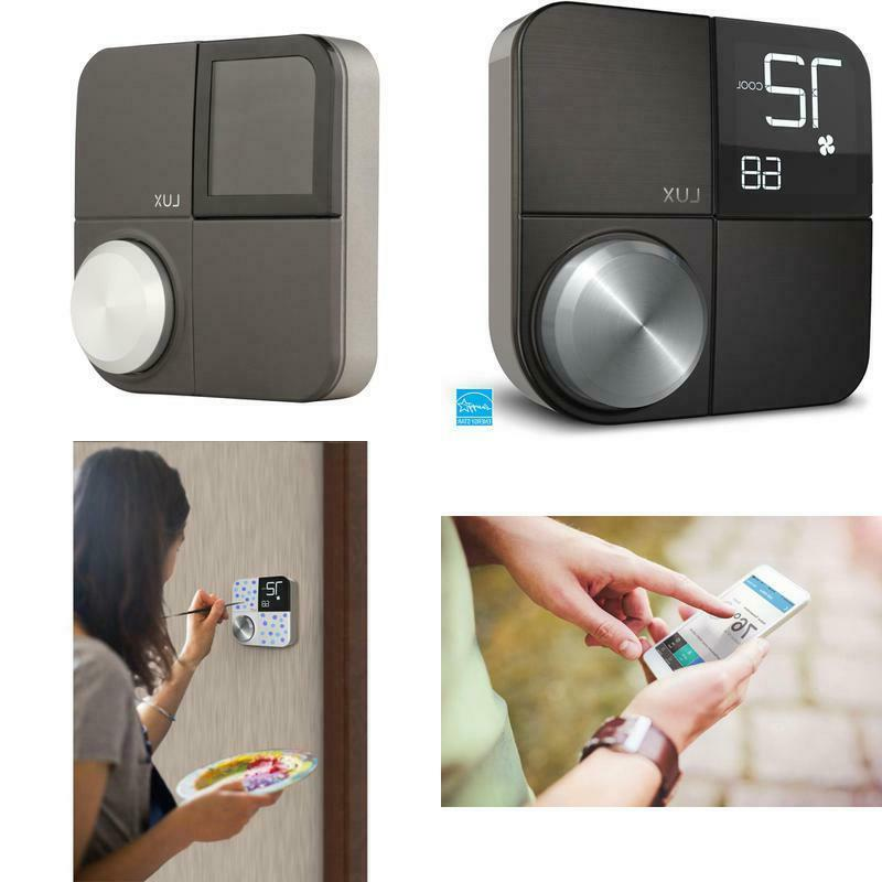 kono smart wi fi thermostat with interchangeable