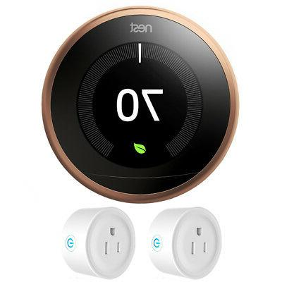learning thermostat 3rd generation copper w 2