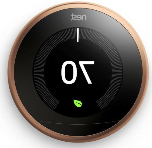 learning thermostat 3rd generation copper works