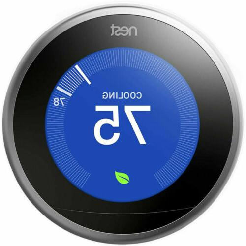 learning thermostat 3rd generation t3007es
