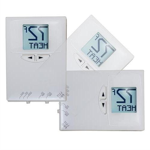 Lux Digital Heat/Cool Thermostat - Conditioning