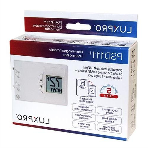 Lux Digital Heat/Cool Thermostat - Air Conditioning