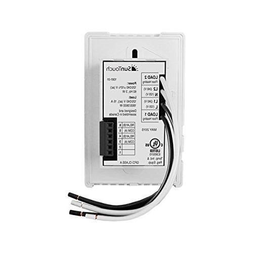 SunTouch Heat Kit 60 ft, to easily installs before for comfort user-friendly Programmable Thermostat