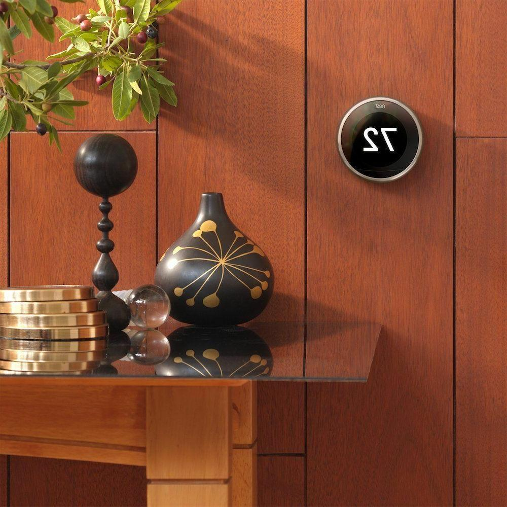 Nest Learning Thermostat Generation, Works with Home Alexa