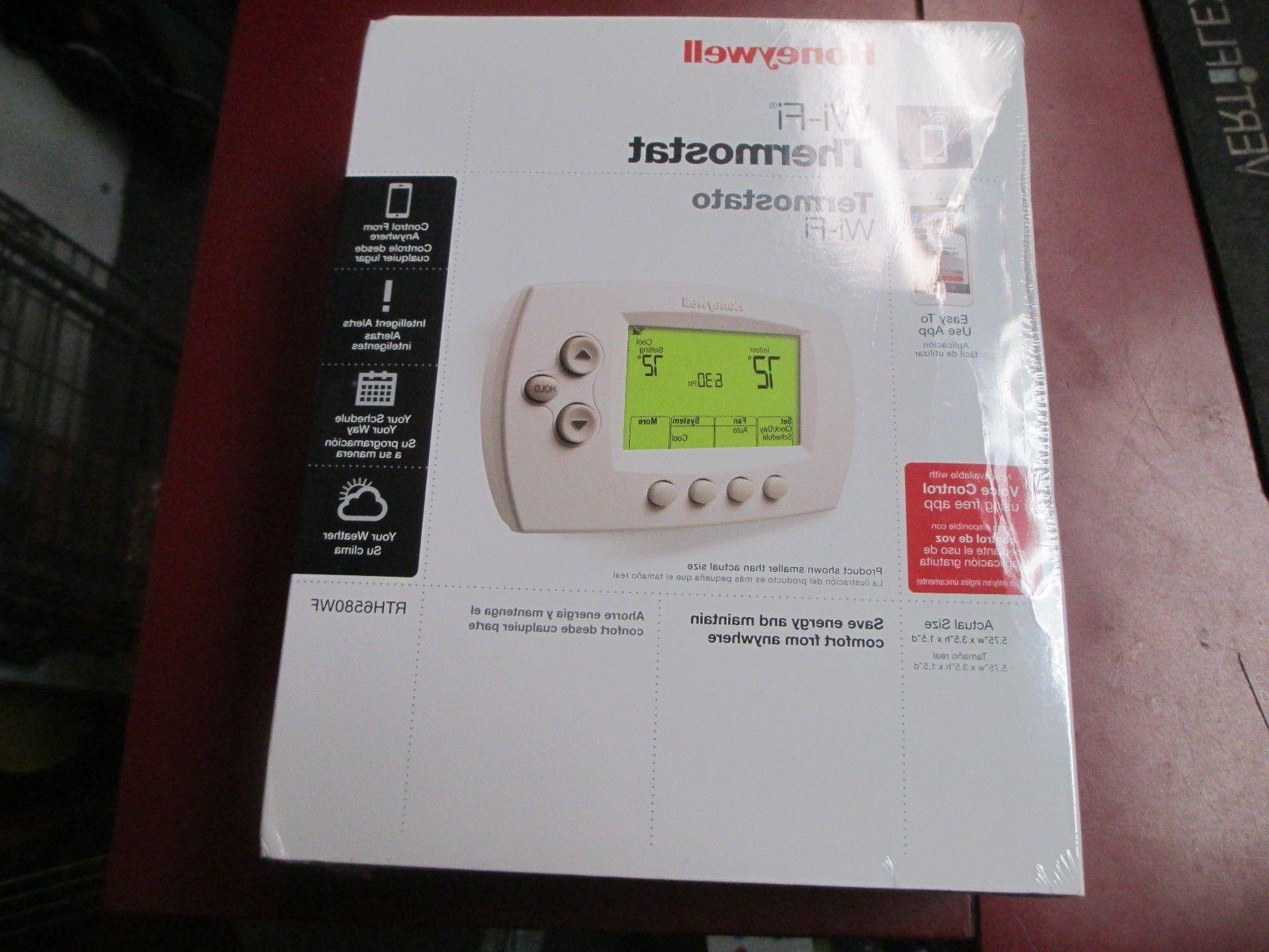 new rth6580wf programmable wi fi thermostat