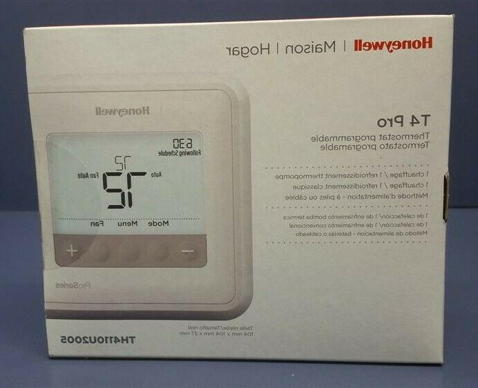 new sealed th4110u2005 t4 pro programmable thermostat