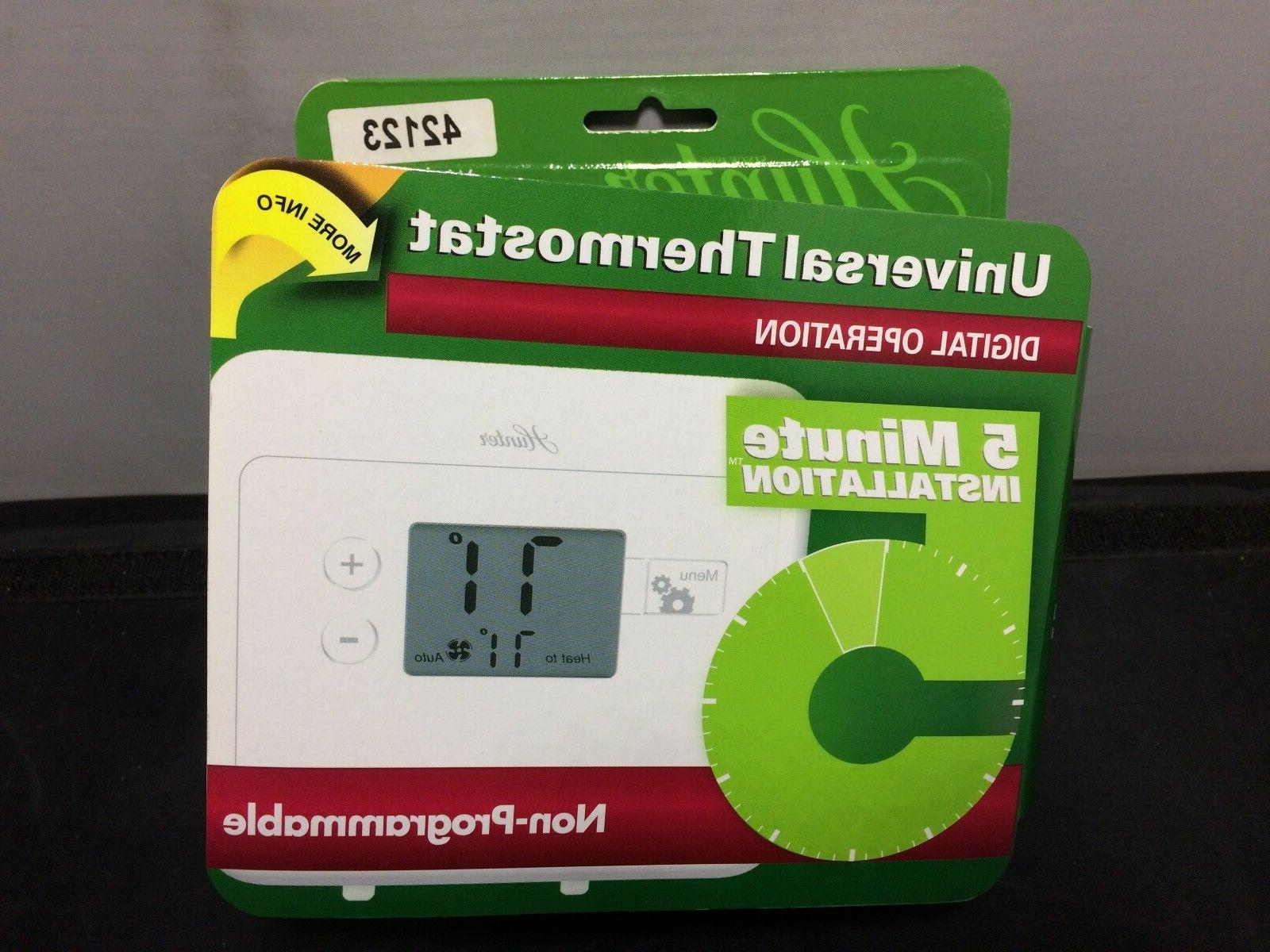 non programmable thermostat