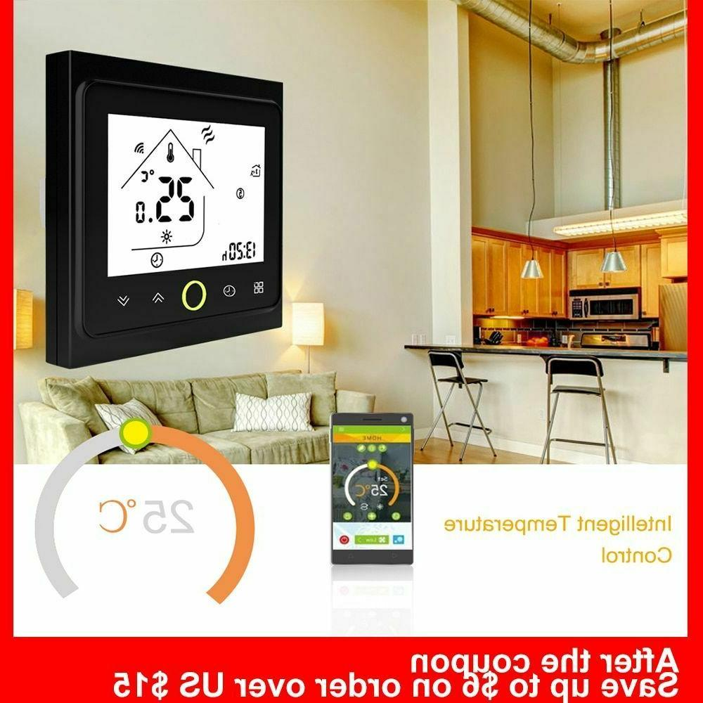 Programmable Digital Thermostat Electric Wireless Smart Wifi