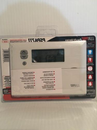 pspa711 auto changeover deluxe programmable thermostat