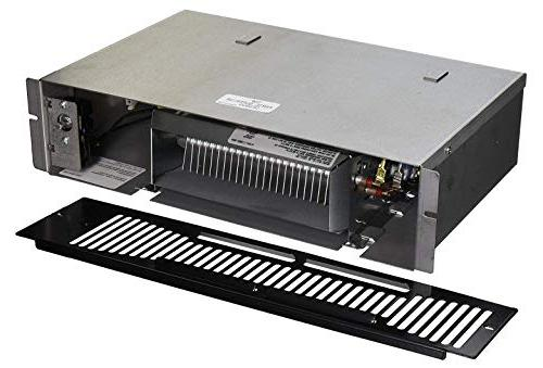 """Qmark Qts1500t, Under Cabinet Fan Kickspace Heater Front Mounted Thermostat 15 3/8"""" in"""