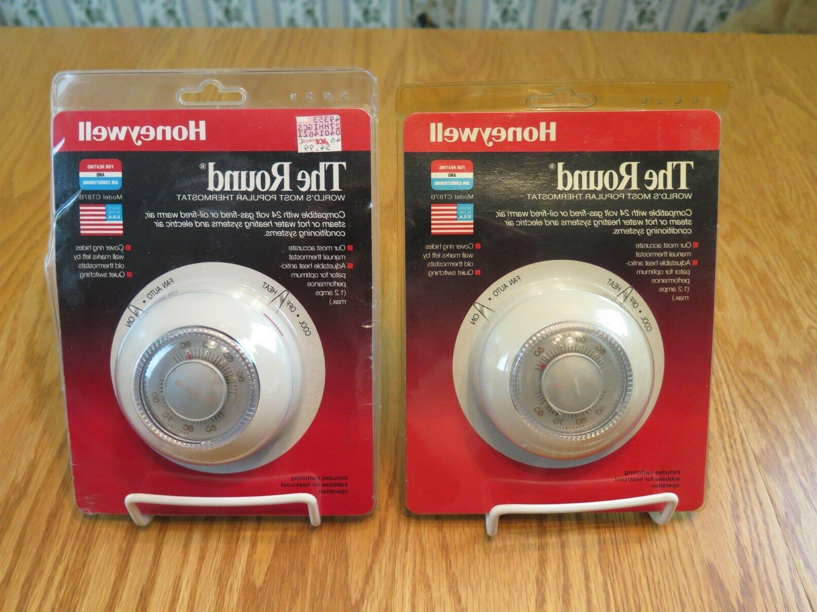 round ct87 series manual thermostats