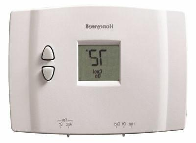 rth111b digital non programmable thermostat white