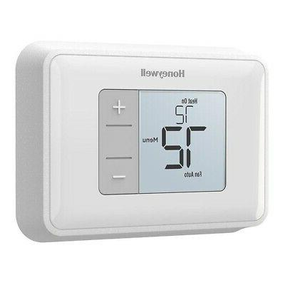 rth5160d1003 simple display non programmable thermostat