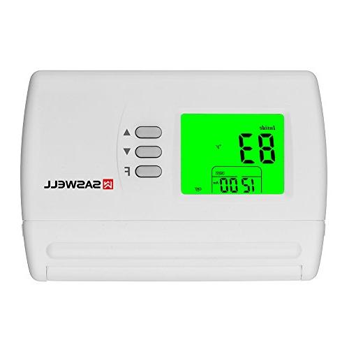 single stage programmable thermostat
