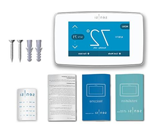 Emerson Touch Thermostat Touchscreen Display, Energy Certified