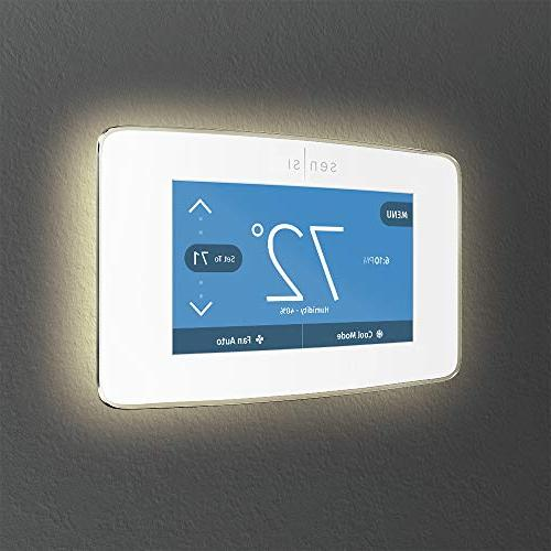 Emerson Thermostat Display, White, Star Certified
