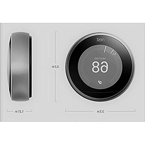 Nest (T3017US 3rd Learning - + Warranty