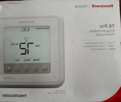 t6 pro programmable thermostat th6210u2001