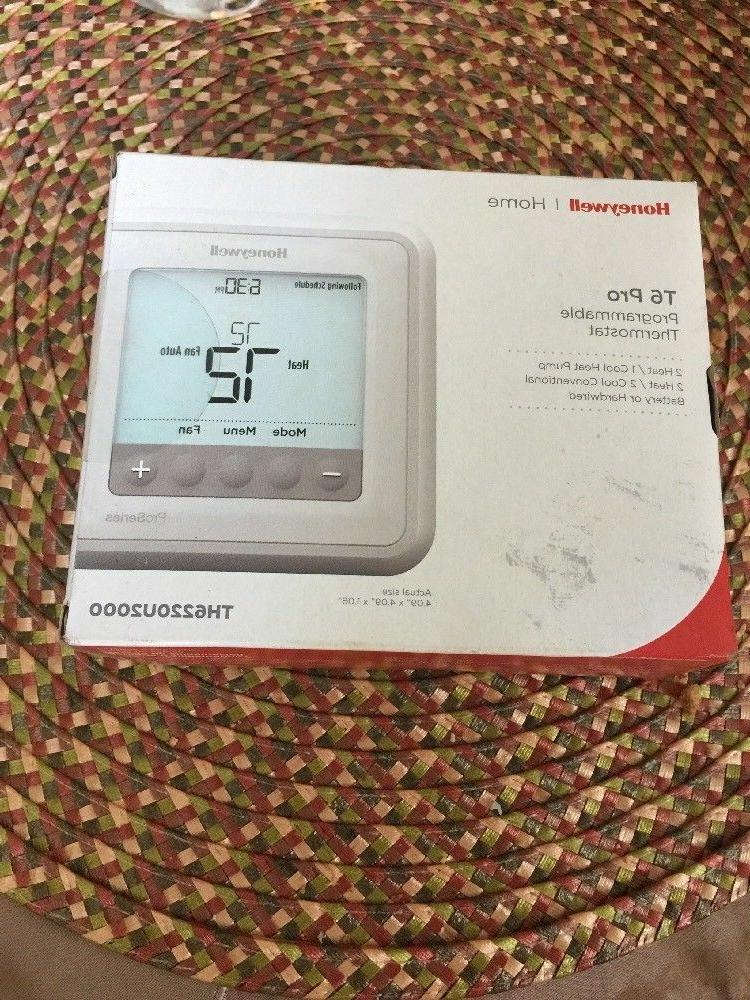 t6 pro programmable thermostat th6220u2000