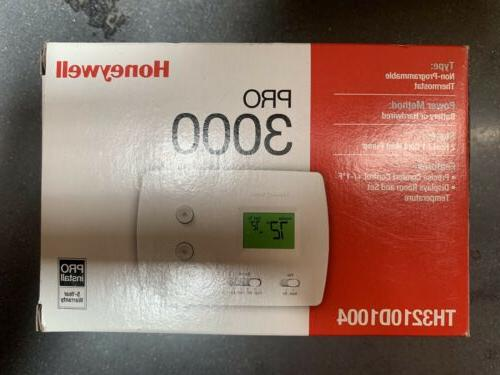 Honeywell Th3210d1004 Non Manual Guide
