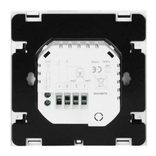 Thermostat Controller LCD Programmable Electric Floor Control