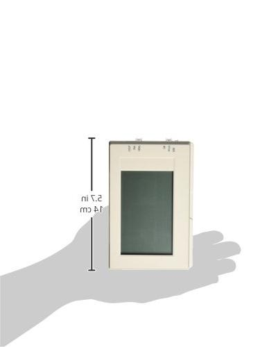Lux Products Large Touchscreen Heating Thermostat, White