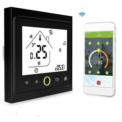 us wireless wifi lcd smart programmable thermostat