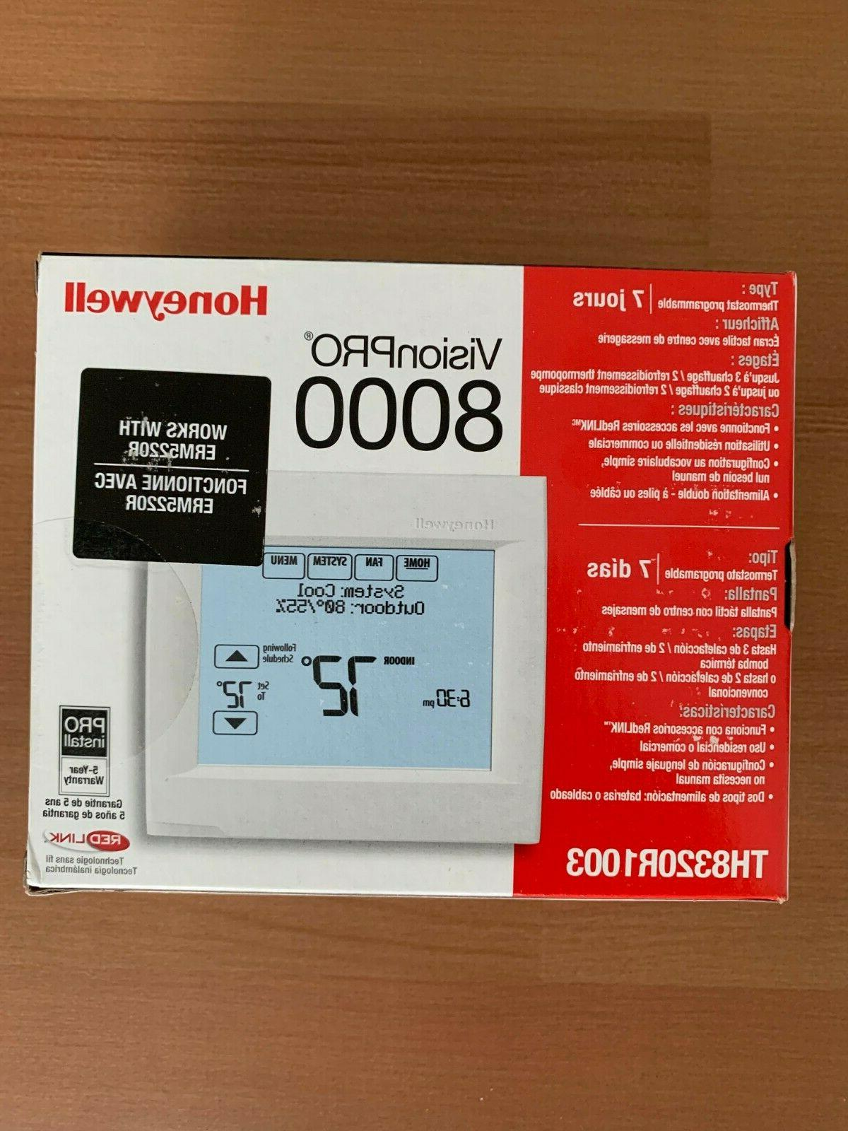 Honeywell 8000 Touchscreen