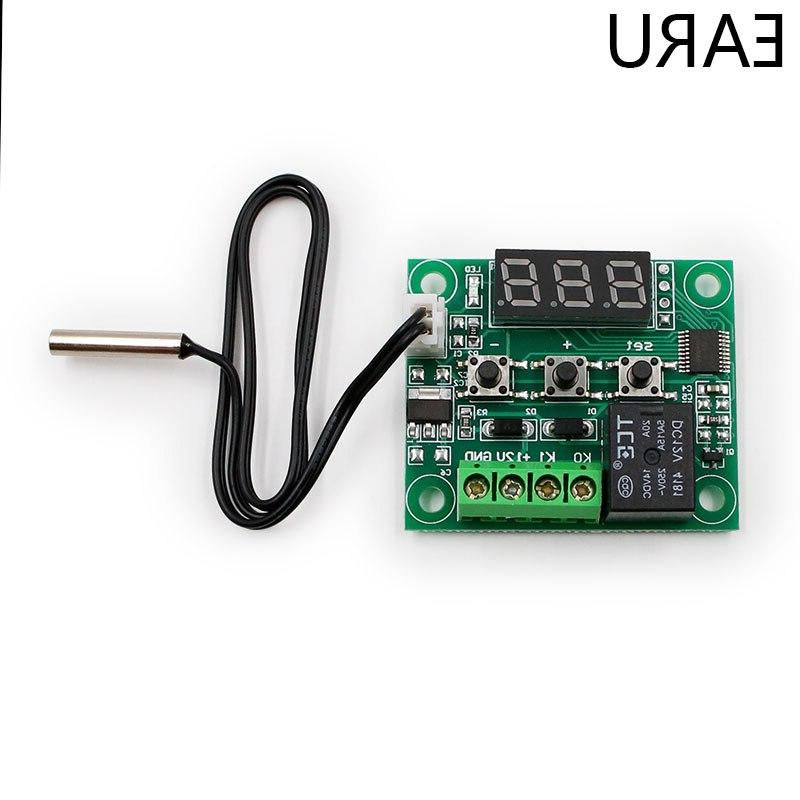 W1209 <font><b>Thermostat</b></font> Temperature Control Thermometer Controller Switch DC 12V Waterproof NTC Sensor