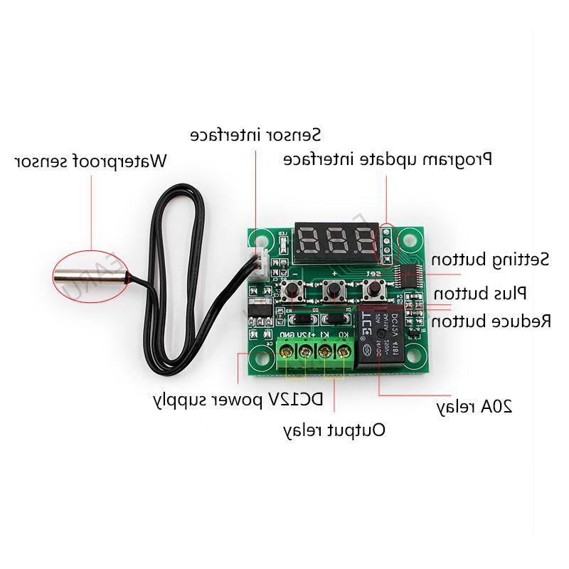 Temperature Controller Switch 12V Waterproof NTC