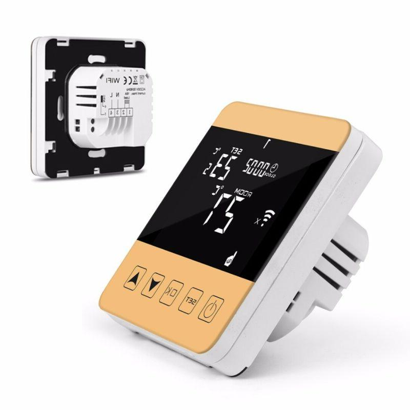 Wall Mounted LCD Wifi Temperature