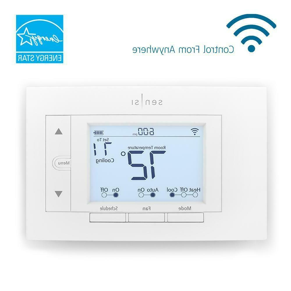 wi fi thermostat for smart home works
