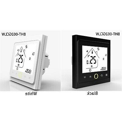 Wifi LCD Programmable Thermostat App