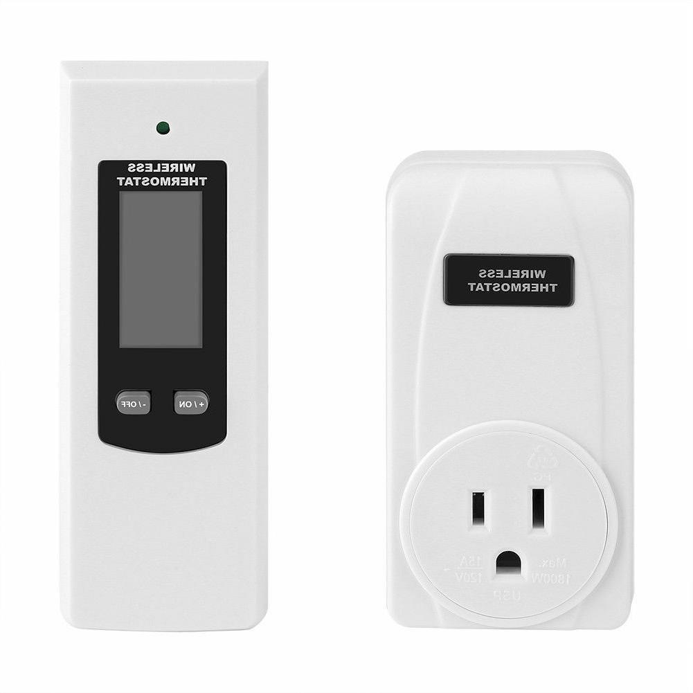 Wireless Thermostat with Control Display Cooling Mode