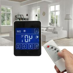 LCD Digital Thermostat Room Heating Temperature Controller +