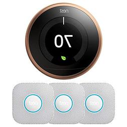 Nest Learning Thermostat - 3rd Generation  T3021US w/ 3-Pack