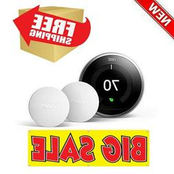 NEST Learning Thermostat + 2 SENSORS BH1252