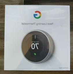 Nest Learning Thermostat - Stainless Steel