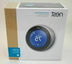 learning thermostat stainless t3007es brand new sealed