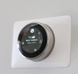 GOOGLE NEST LEARNING THERMOSTAT WALL PLATE COVER E And 3rd G