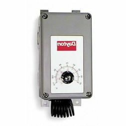 Line Voltage Mechanical Thermostat, Heating/Cooling, 120 to