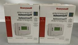 Lot of 2 Honeywell RTH2300B Programmable Thermostat