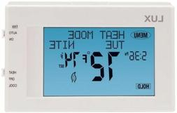 Lux Universal 7-Day Programmable Touch Screen Thermostat TX9