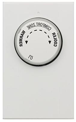 Lux LV11-005 Thermostat, Mechanical 120/240 Line Voltage Hea