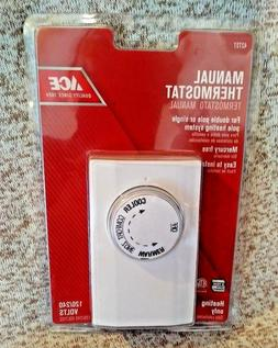 Manual Thermostat Ace Hardware 42603 NIP