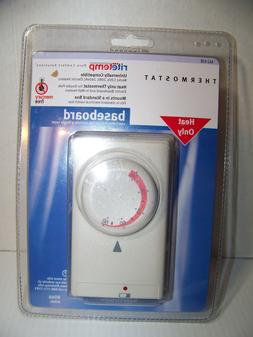 RITETEMP Model 8046 Baseboard HEAT ONLY Thermostat Brand New