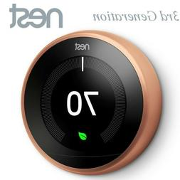 nes t3021us smart learning thermostat 3rd generation